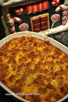 Finnish Carrot Casserole (Porkkanalaatiko) - baked with eggs and milk Finnish Cuisine, European Cuisine, Carrot Casserole, Casserole Recipes, Vegetable Dishes, Vegetable Recipes, I Love Food, A Food, Finland Food