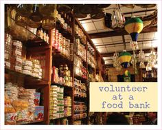 Volunteer at a Food Bank There are many ways to help your local food bank. Obviously, providing canned goods is a great way. But you can also be a little more hands-on and volunteer Food Bank, A Food, Putting Others First, Mexico Food, Food Waste, Andalusia, Health Matters, Fett, Helping People