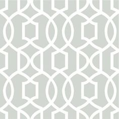 NuWallpaper 30.75 sq. ft. Grey Grand Trellis Peel and Stick Wallpaper - NU1421 - The Home Depot  $40 peel and stick
