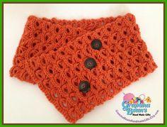 broomstick lace #crochet cowl pattern