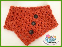 Broomstick lace #crochet cowl - Image via Craftsy member GrammaBeans