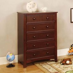 Chest Pine Omnus CollectionCM7905CSKU :CM7905CStyle :TransitionalColor/Finish :Cherry, Dark Walnut, Oak, WhiteMaterial :Solid Wood/Wood Veneer