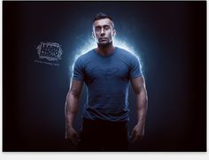 Learn HOW TO CHANGE THE LIGHTING IN A PHOTO! In this 140-minute Photoshop VIDEO tutorial, we will start with a basic studio photo and create a completely different, much darker environment, add sources of lights and create a cool smoky vapor effect which will give our photo the look of a commerical poster featuring a celebrity athlete.