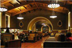 LA Union Station Hall - 1934  Architects John & Donald Parkinson.  MelvinGilbertPhotography