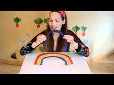 Filastrocca dell'arcobaleno, rainbow song - canzoni per bambini