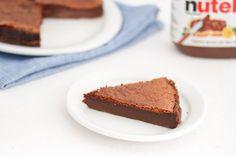 2 Ingredient Flourless Nutella Cake   Kirbie's Cravings