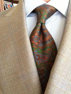 Sam Hober Tie: Macclesfield Madder Printed Silk Tie 6 http://www.samhober.com/madder-print-silk-ties/