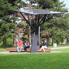Station de recharge pour téléphone portable / solaire TREE Strawberry Energy