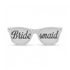 Say thank you and make the Bridesmaids stand out at the hens party with their very own pair of cool retro bridesmaid sunglasses Bridesmaid Glasses, Wedding Glasses, Bridesmaids, Hens Night, Wayfarer, Mirrored Sunglasses, Party Wedding, Retro, Dress