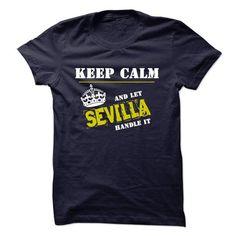 Let SEVILLA Handle It - #tshirt scarf #old tshirt. SATISFACTION GUARANTEED => https://www.sunfrog.com/Funny/Let-SEVILLA-Handle-It.html?68278