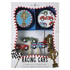 Racing Car Cupcake Kit Meri Meri http://www.amazon.com/dp/1614549168/ref=cm_sw_r_pi_dp_jZ54ub1W9VPZG