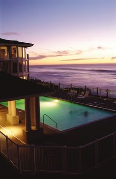 Poolside romance at WorldMark Depoe Bay, OR