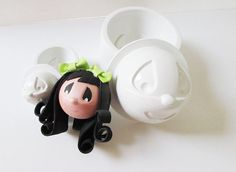 Fofucha Too Precious 3d foam mold 2 pack (Small & Large) - Fofucha Preciosa - Termoformado, Goma Eva, Foamy, Foami