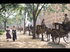 New York City 1900-1919 In Color (HD1080i) - YouTube