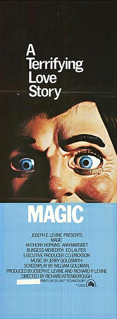 Magic (1978) starring Anthony Hopkins, Ann-Margret & Burgess Meredith