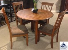 The Berringer Dining Room Table Incorporates Decidedly Rustic Flair Two Drop Leaves Provide Just Enough