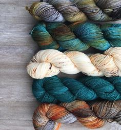 """275 Likes, 3 Comments - • Yarnologist • (@yarnologist) on Instagram: """"Pretty collection from @savvyskeins """""""