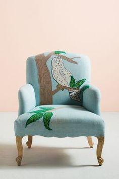 Treescape Dorrance Chair, Owl | Anthropologie