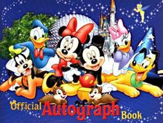 Purchase Autograph Book Beforehand | Disney Dave