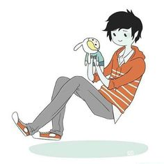 Marshall Lee and Fiona Doll