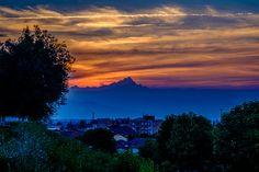 Al cader della giornata - Il Re di Pietra veglia su di noi al tramonto