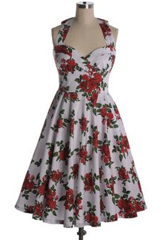 Indie, Retro, Party, Vintage, Plus Size, Convertible, Cocktail Dresses in Canada NEW: Bal De La Rose Dress - Beautiful floral dress from Hell Bunny. Removable belt. Fits slightly large. Back zipper. 98% cotton, 2% spandex Not stretchy Not lined Size Length Bust Waist Hips XS 40 16 13.5 free