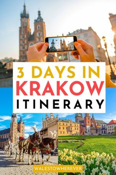 Plan the perfect 3 days in Krakow with this complete Krakow itinerary, including where to stay, what to eat and day trips from Krakow! Europe Travel Guide, Europe Destinations, Travel Guides, Europe Packing, Traveling Europe, Backpacking Europe, Packing Lists, Travel Abroad, Travel Packing