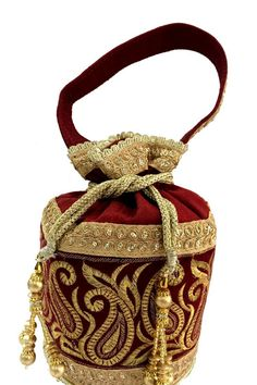 Awesome potli bags collection at @ http://zohraa.com/accessories/bags-and-clutches.html Buy now @ http://zohraa.com/accessories/bags-and-clutches/maroon-brocade-potli-z1754ppb65-73.html sku : 65269  Rs. 799 #clutchesonline #bags #bagsonline #potlibagsonline