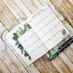 "498 Likes, 25 Comments - Rachel D. (@rachelbujo) on Instagram: ""Here's my green theme setup for this monthly spread. I enjoy coloring with the @tombowusa dual…"""