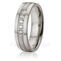 2016 anel feminino  pure titanium  brushed and polishing custom women wedding band jewelry pure titanium finger rings #Affiliate