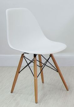 olive green eames style dining chair from danetti danetti