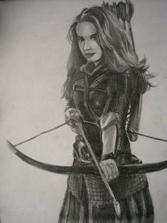 Susan the Gentle Archer by havethemlegends.deviantart.com on @deviantART