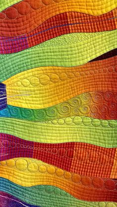 Tokyo Quilt Festival – Famous Last Words Quilting Beads Patterns Free Motion Quilting, Quilting Tips, Longarm Quilting, Machine Quilting Patterns, Quilt Patterns, Quilt Modernen, Japanese Quilts, Colorful Quilts, Textiles