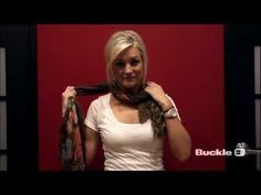 12 Ways to Tie Your Scarf - A BUCKLE HOW-TO