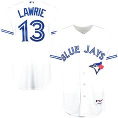 Brett Lawrie Toronto Blue Jays Majestic Authentic Home Jersey - White - $187.14