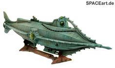 20.000 Meilen unter dem Meer: Nautilus - Display Modell by SPACEart.de, via Flickr