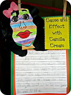 Bad Case of Stripes- by David Shannon. Cute way to teach cause and effect! David Shannon, Teaching Language Arts, Teaching Writing, Teaching Ideas, Teaching Resources, Language Activities, 2nd Grade Writing, First Grade Reading, Reading Lessons