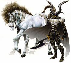 Final Fantasy VIII - Odin & Sleipnir