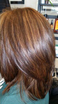 #hair #color Haircuts For Round Face Shape, Haircut For Thick Hair, Long Hair Cuts, Long Hair Styles, Layered Bob Haircuts, Layered Hair, Medium Length Hair With Layers, Long Dark Hair, Beauty And Fashion