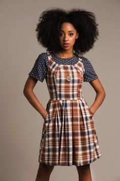 CUTE!  Layering Outside the Box - Story by ModCloth