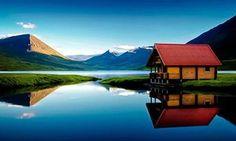 Brimnes Cabins, North Iceland