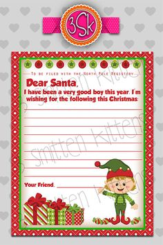Personalized Letter From Santa Claus Have A Personalized Santa