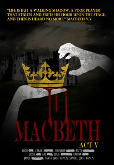 Macbeth poster ideas/inspiration