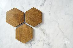 DIY Hexagon Coasters – DIY Huntress