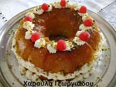 Greek Desserts, Love Is Sweet, Cake Pops, Pudding, Sweets, Breakfast, Ethnic Recipes, Food, Poems