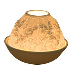 Photophore porcelaine : photophore porcelaine, lithophanies, timbales et pots à bougie parfumée