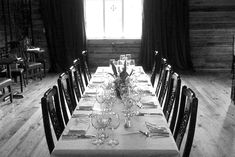 Het Landhuis | Pittsboro, NC Wedding Locations, Hut, Conference Room, Table Settings, Dining Table, Rustic, Places, Wedding Ideas, Weddings