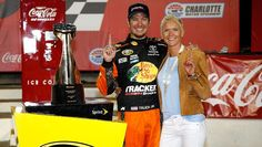 Sherry Pollex, longtime girlfriend of Martin Truex Jr., talks about Martin winning the Coca-Cola 600 after a season full of disappointments.