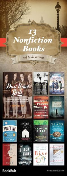 13 nonfiction books for women worth reading. These books for adults feature historical stories, books about science, inspirational true stories, and more.