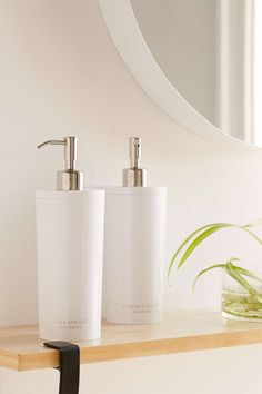 streamline your shower ... Shampoo & Conditioner Dispenser (Body Soap too)